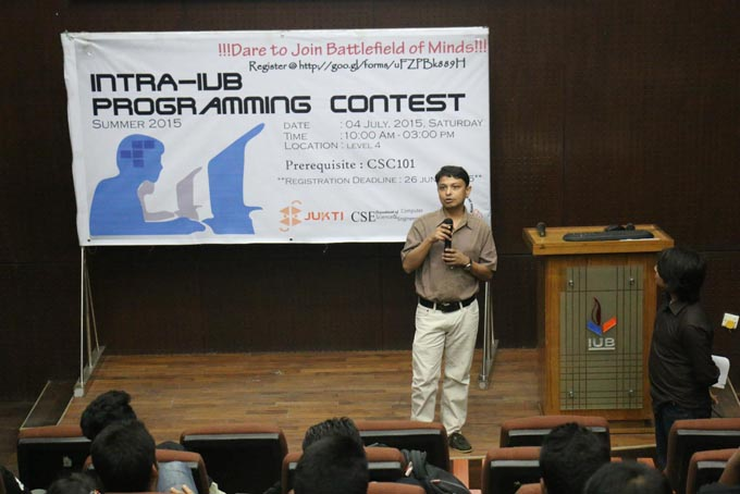 Dept. of CSE Hosts Intra IUB Programming Contest