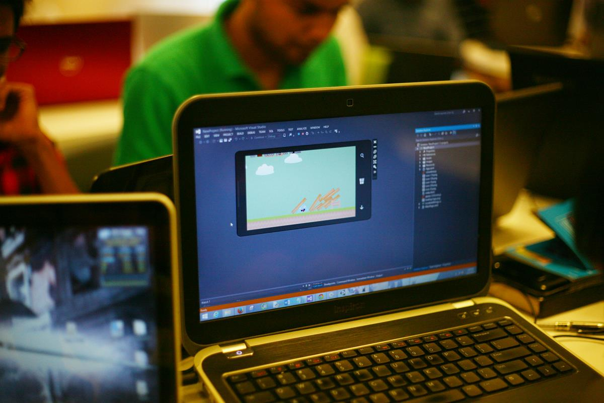 2D Game Development Workshop, Angry Bird Clone at IUB
